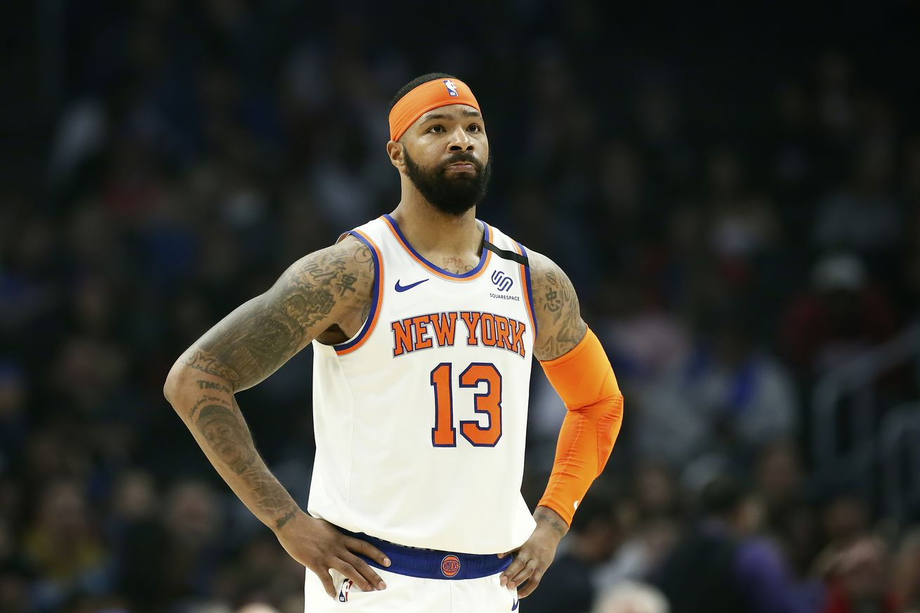 The Knicks should trade Marcus Morris