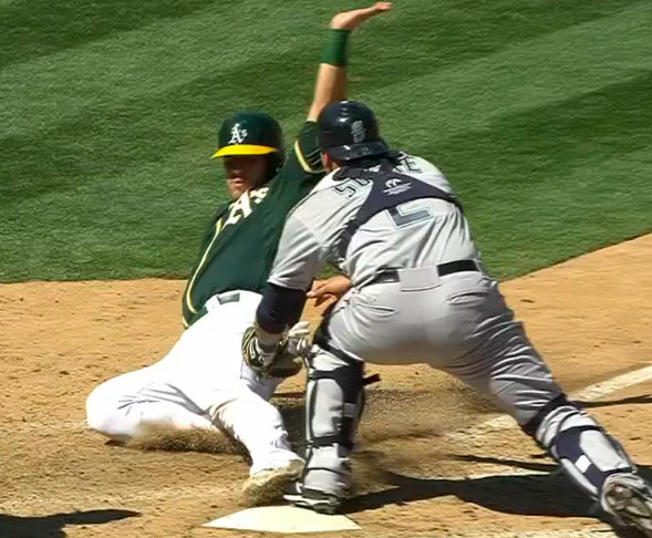 a's out