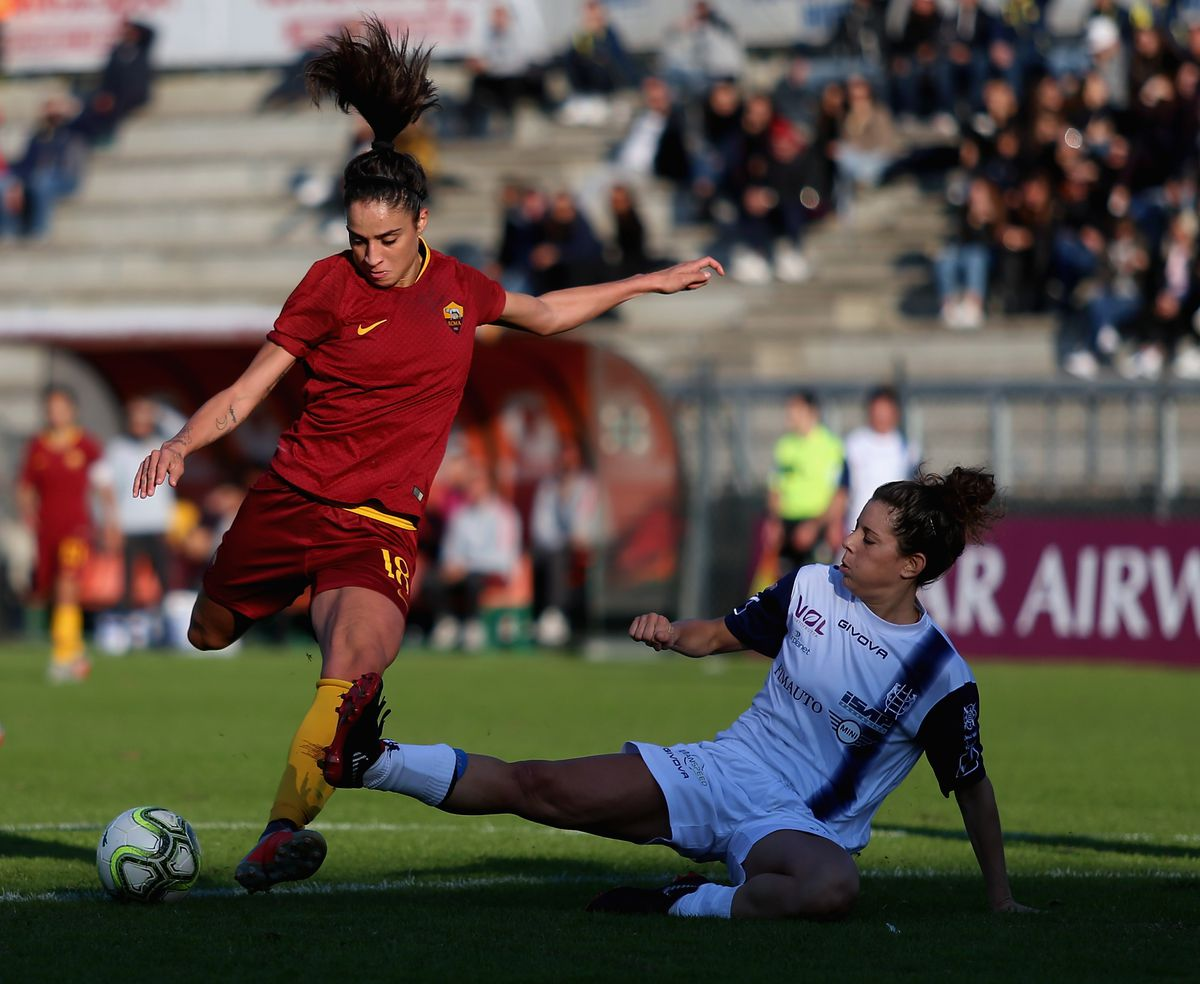 AS Roma v Chievo - Women Serie A