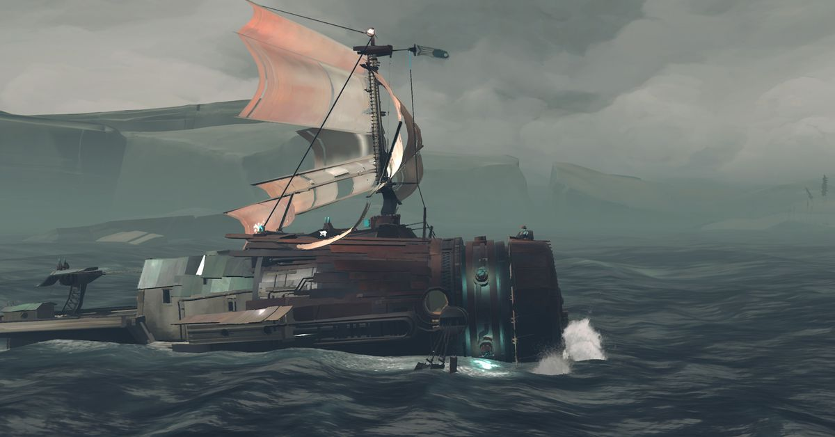 Far: Changing Tides, a meditative side-scrolling adventure puzzle game