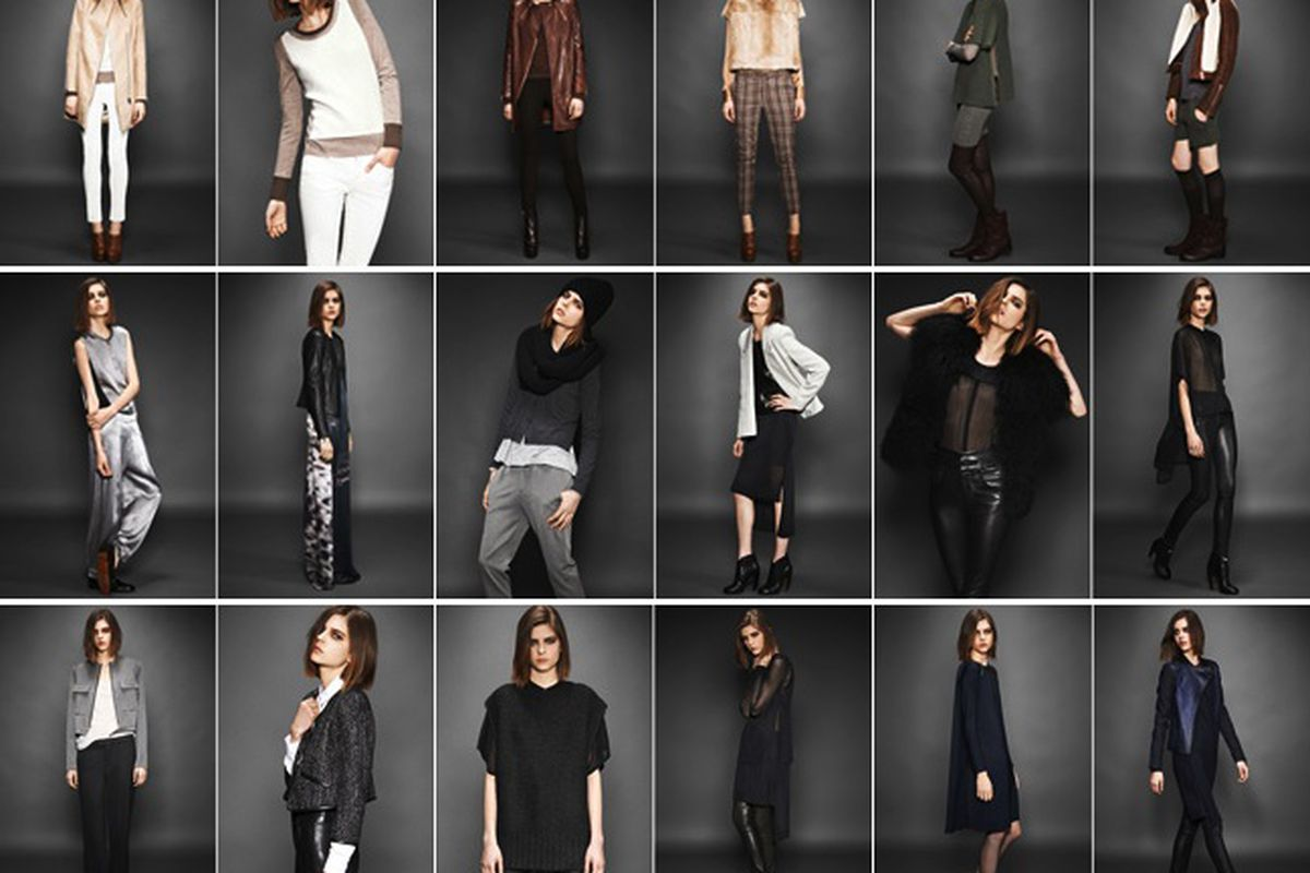 Image from J Brand's Fall 2012 lookbook