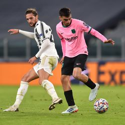 Pedri started against vs Juve
