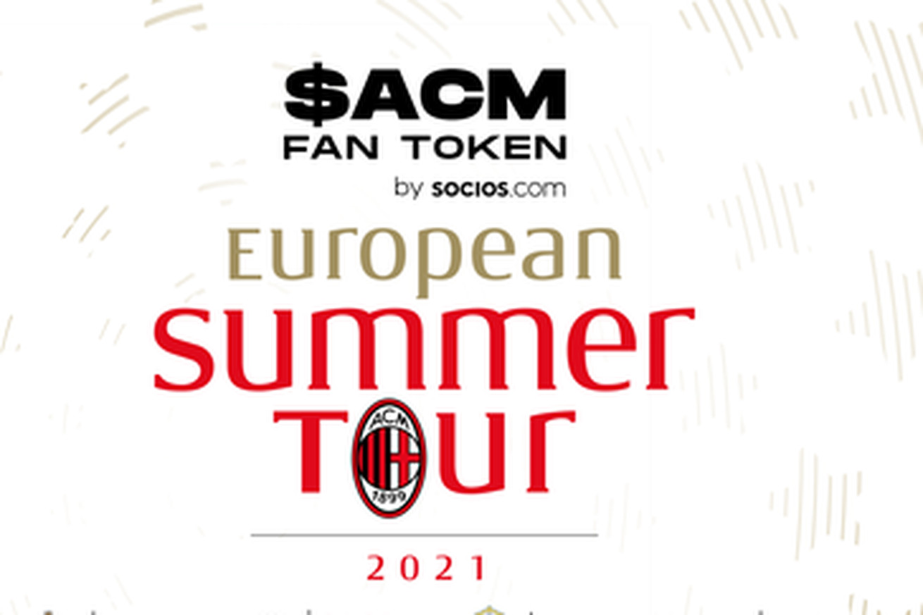 AC Milan Announce European Tour For Pre Season Sponsored by Socios.com