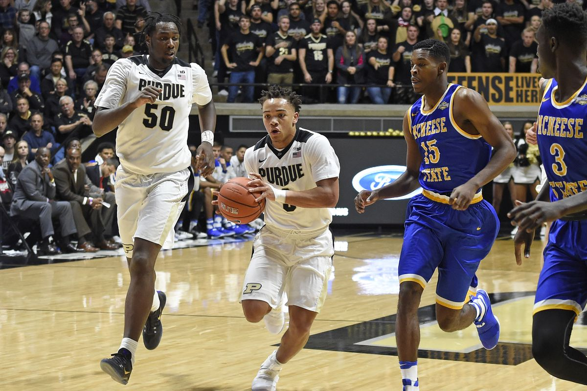 NCAA Basketball: McNeese State at Purdue