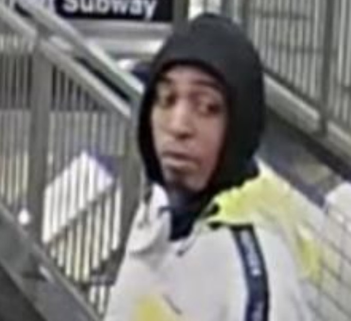 Man wanted in connection with a CTA Blue Line shooting