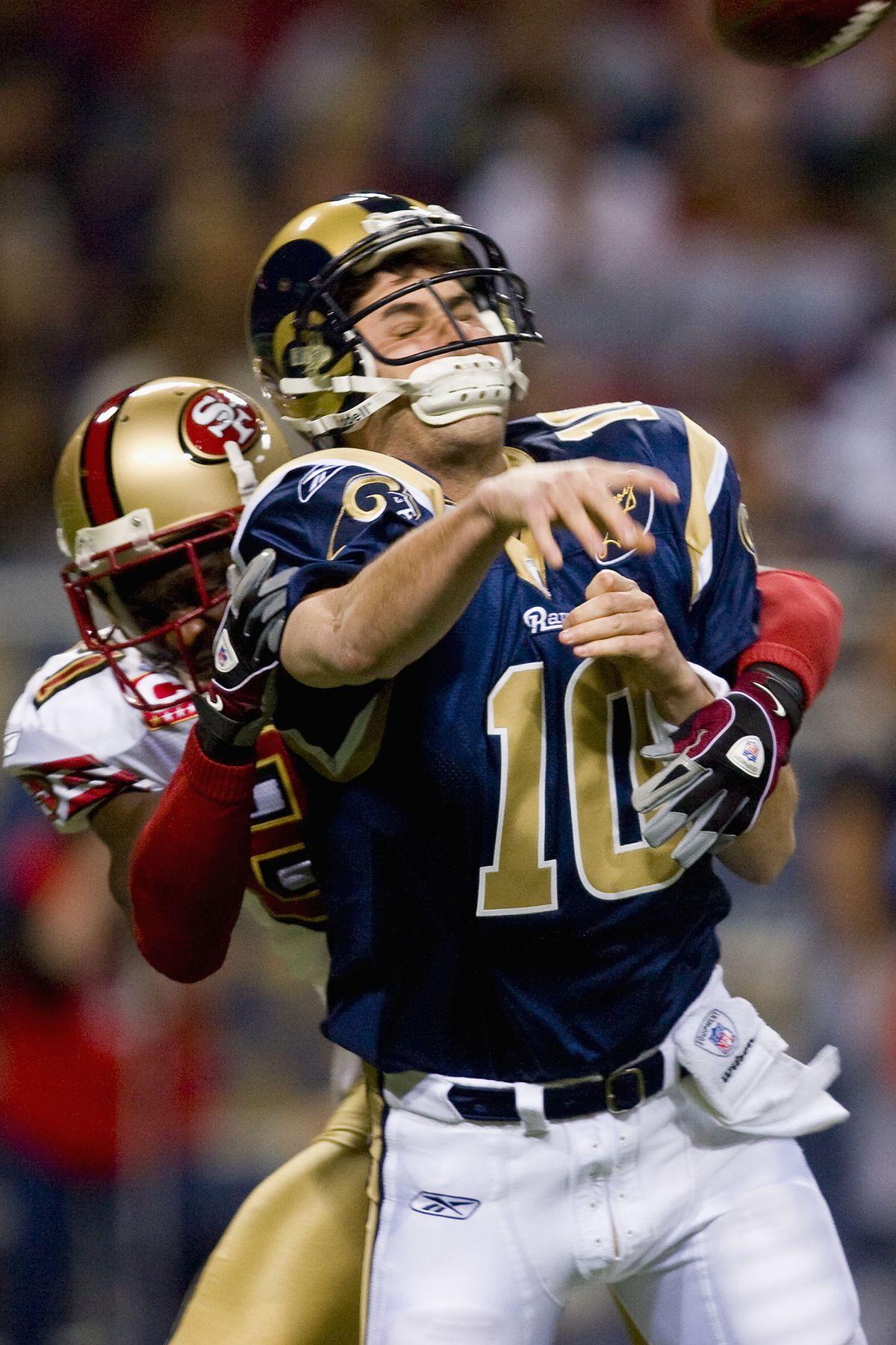San Francisco 49ers v St. Louis Rams