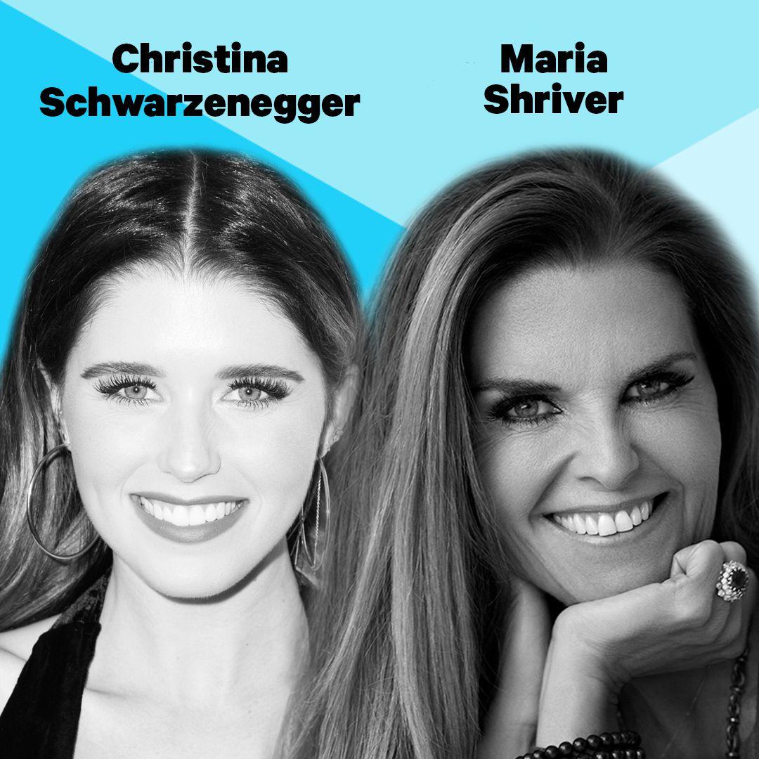 Maria Shriver and Christina Schwarzenegger live from SXSW