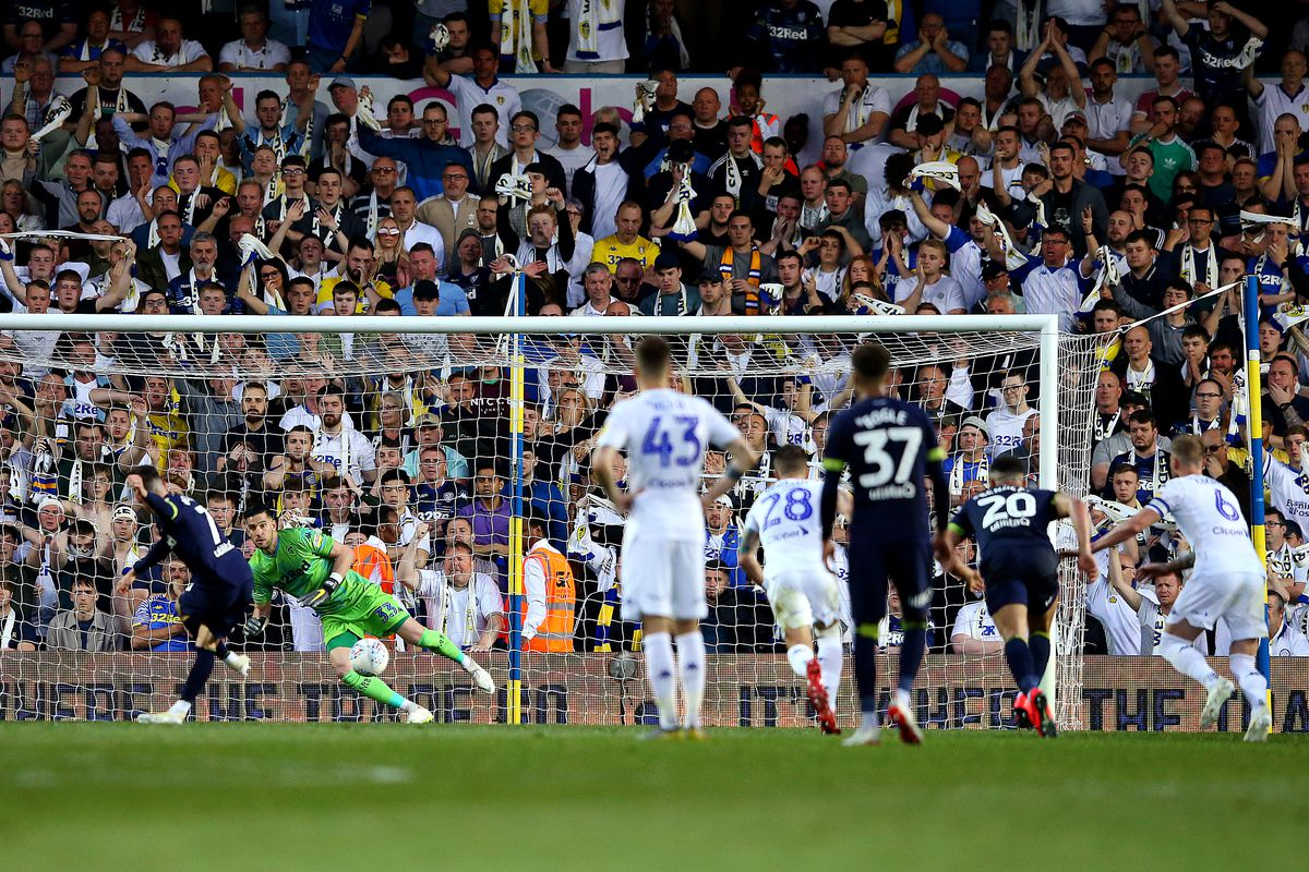 Leeds United v Derby County - Sky Bet Championship Play-off Semi Final: Second Leg