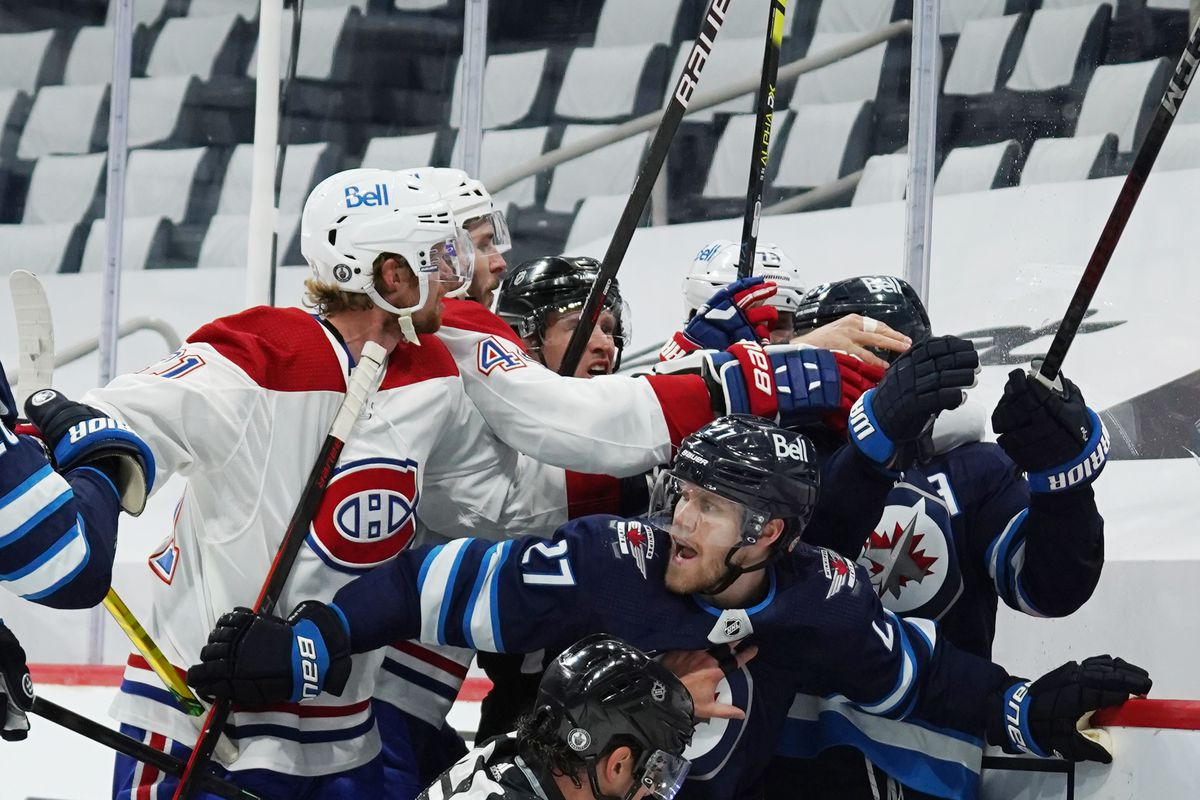 Winnipeg Jets v Montreal Canadiens - Game One