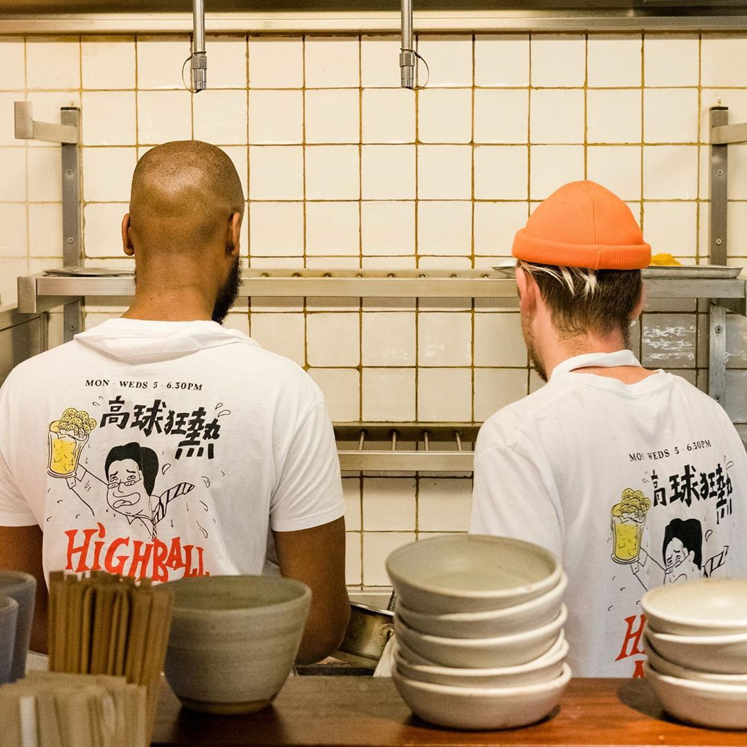 Bao highball mania t-shirt merch