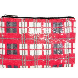 """An oversize envelope is so fun and unexepected in sequined plaid. ASOS <a href=""""http://us.asos.com/ASOS-Clutch-Bag-In-Sequin-Check/11ghpn/?iid=3173846&SearchQuery=clutch&sh=0&pge=0&pgesize=-1&sort=-1&clr=Multi&mporgp=L0FTT1MvQVNPUy1DbHV0Y2gtQmFnLUluLVNlcX"""