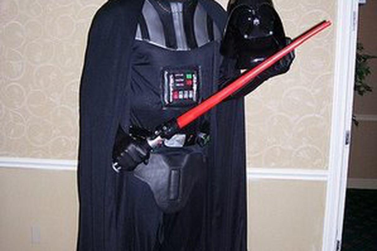 Donny-Ice meets Darth Vader.