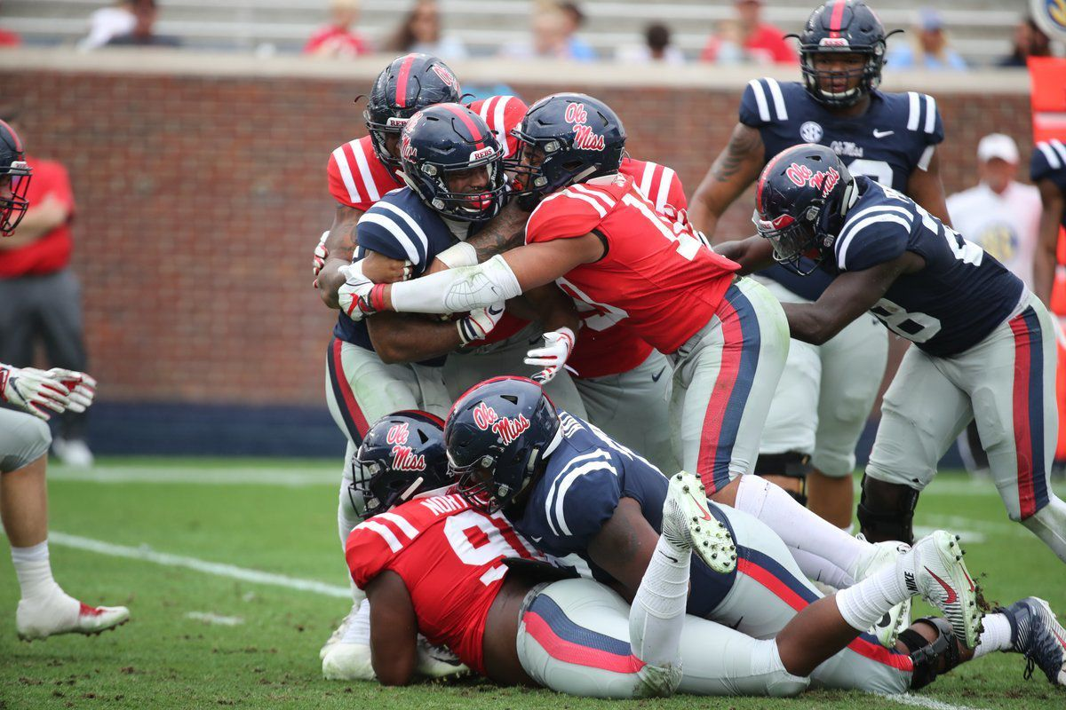 A new Ole Miss defense shined brighter than its new ...