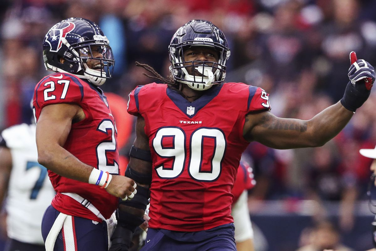 Jadeveon Clowney and the Texans No 1 defense could be a problem