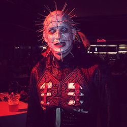A Halloween costume party isn't complete with at least one Hellraiser.
