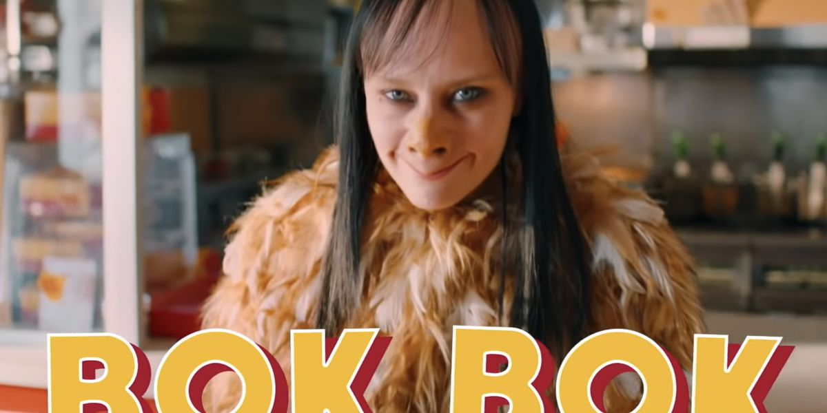 Watch Kate McKinnon Play a Momo-esque Fast Food Mascot on 'SNL'