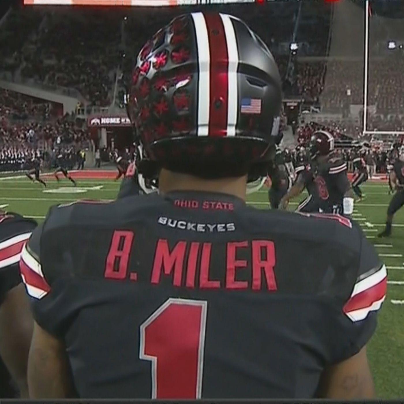 Braxton Miller is not Braxton Miler, despite what his jersey said ...