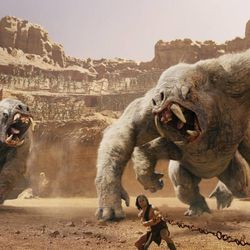 """In this film image released by Disney, Taylor Kitsch is shown in a scene from """"John Carter."""""""