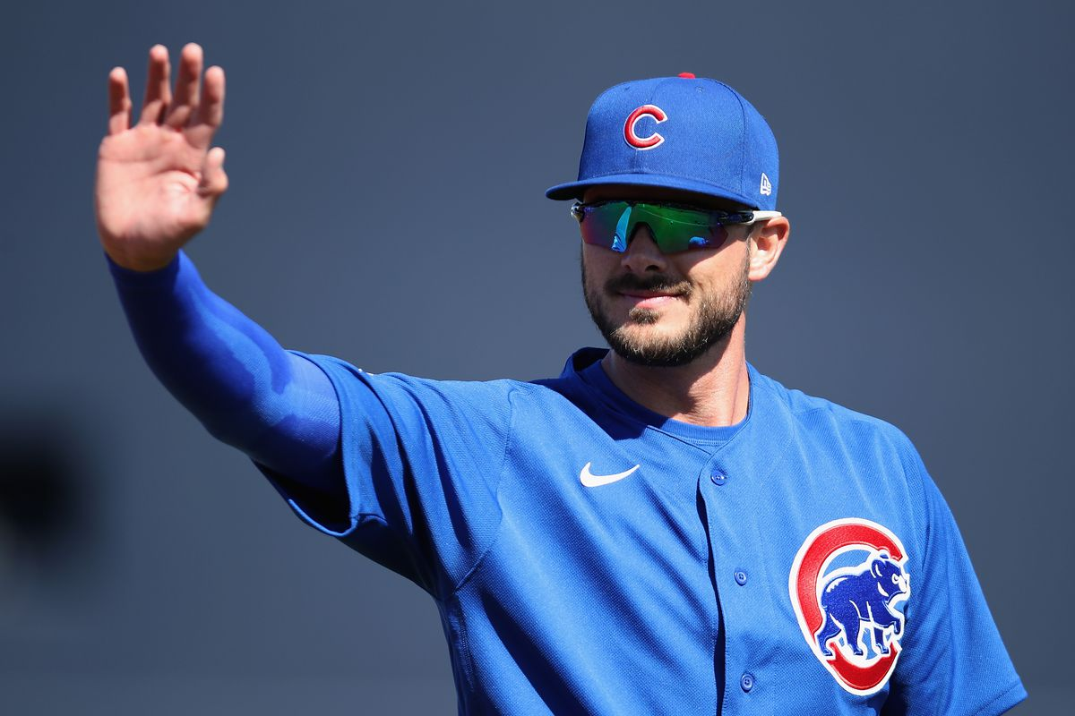 """''I just want to play baseball, like I did my first and second years and third year, and not worry about anything,"""" the Cubs' Kris Bryant said."""
