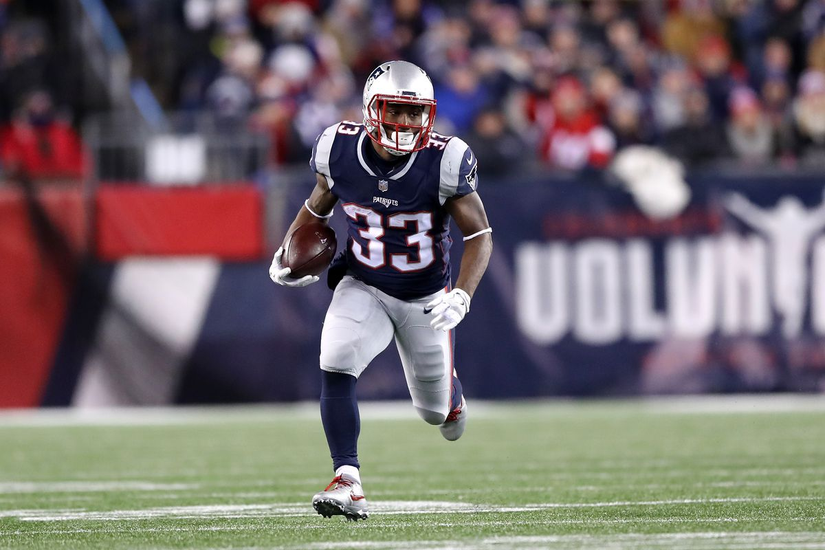 online store 393db 3fd39 Super Bowl 2018: Dion Lewis became the Patriots' unlikeliest ...