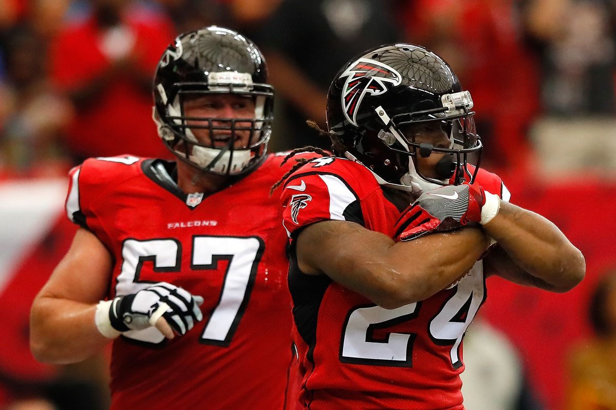 The Falcons have 10 days to Andy Levitre and Tevin Coleman