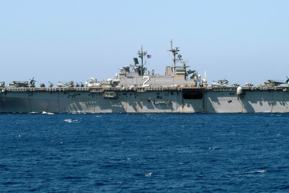 Navy Sends Assistance To Landslide Victims