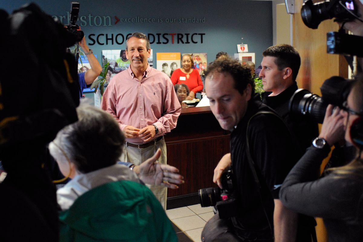 Former SC Gov. Mark Sanford And Elizabeth Colbert Busch Face Off In Special Election