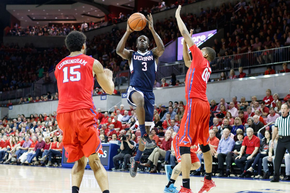 NCAA BASKETBALL: FEB 14 UConn at SMU