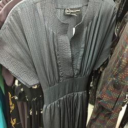 Blue dress, $85