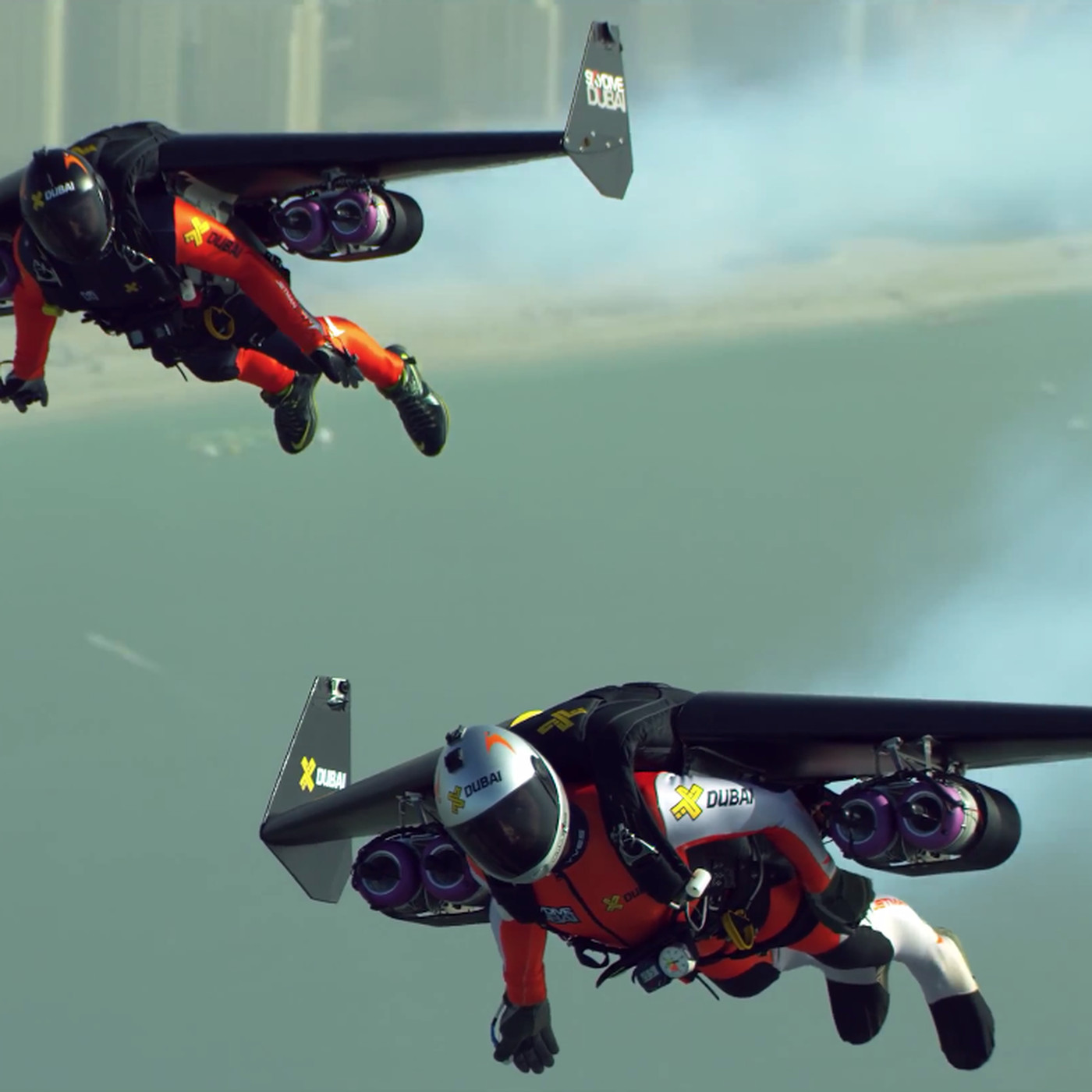 Watch two crazy people fly jetpacks over Dubai in 4K - The Verge