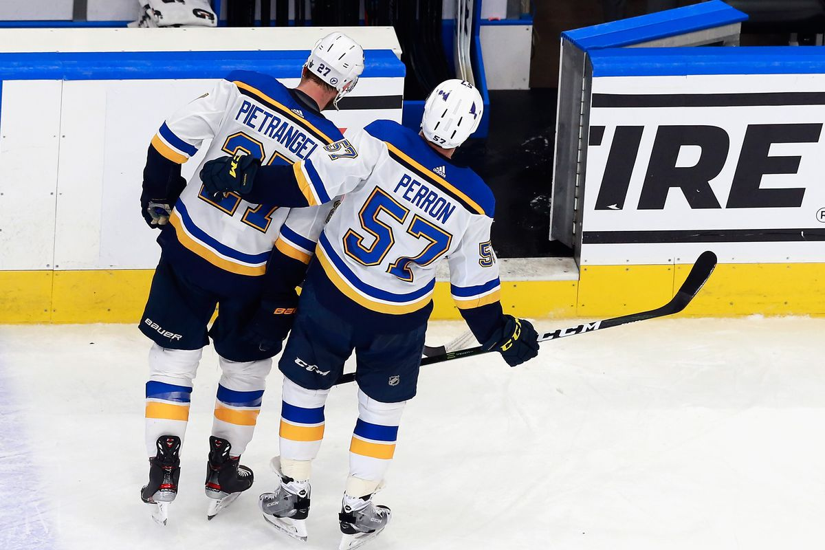Why This Year S Blues Playoff Exit Doesn T Sting As Much St Louis Game Time