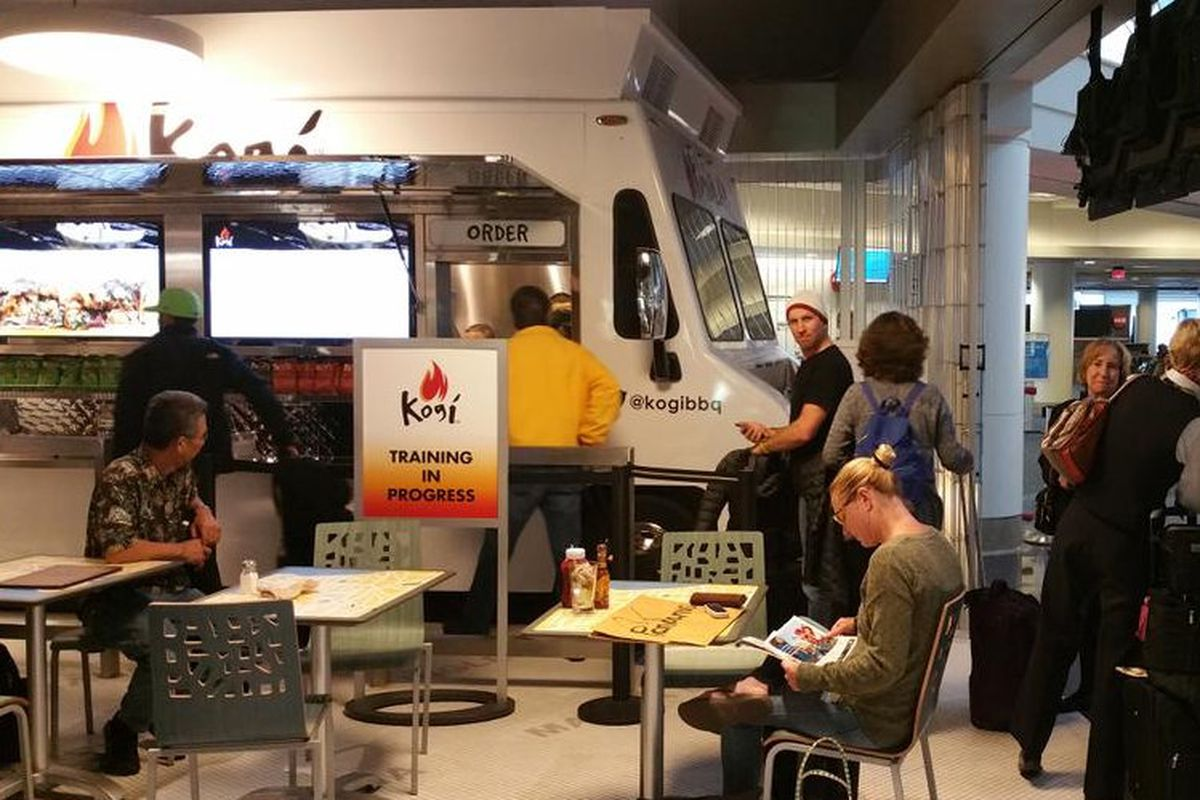 Food Truck In Lax Airport