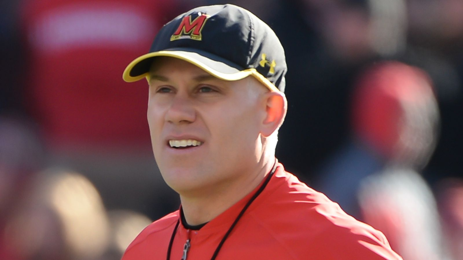 COLLEGE PARK Md AP Maryland places football coach DJ Durkin on leave while school investigates bullying allegations