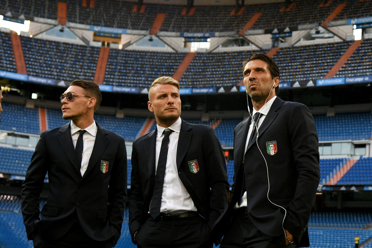 Italy Pitch Inspection And Press Conference