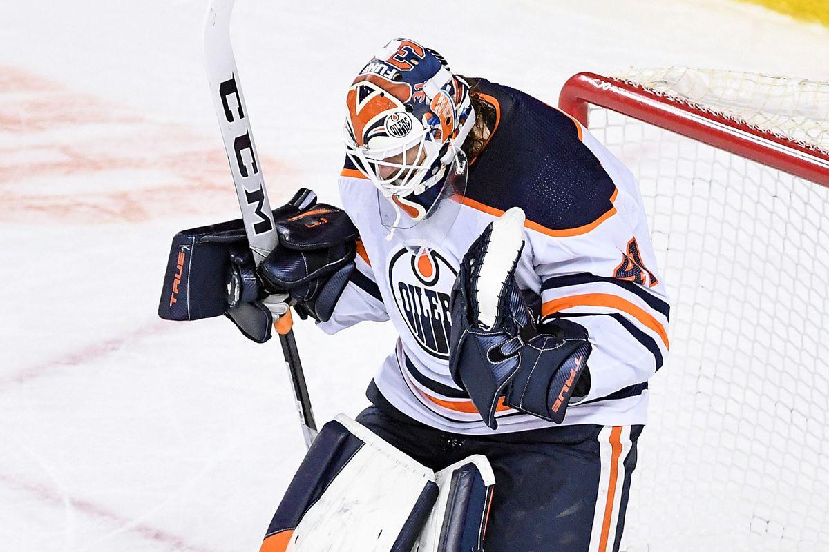NHL: FEB 19 Oilers at Flames
