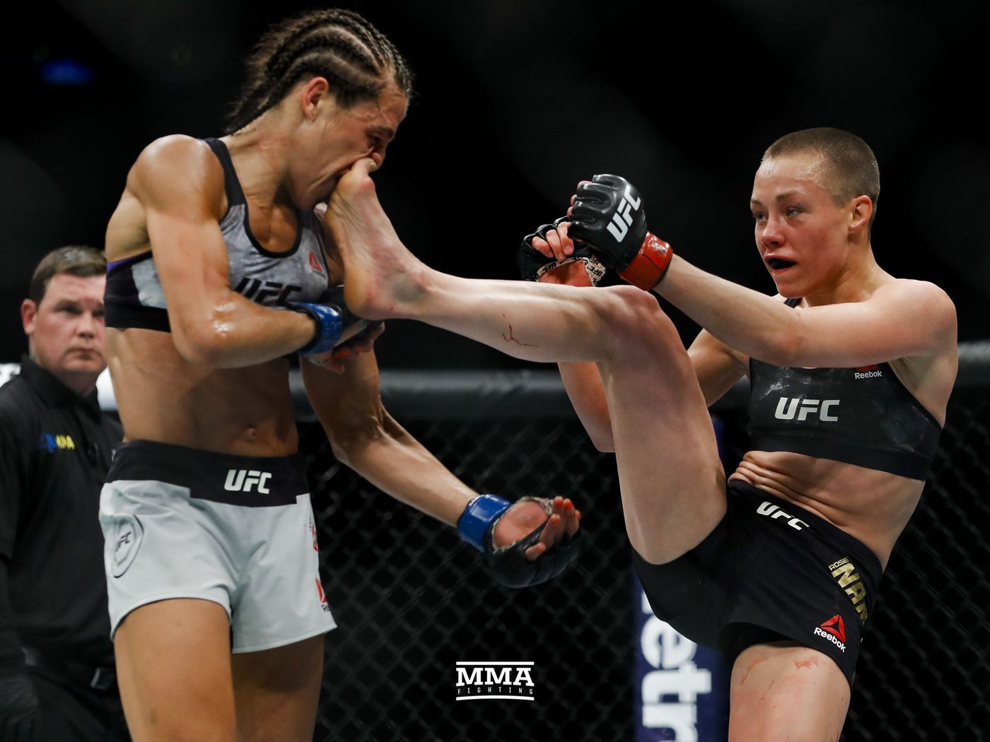 UFC 223 results: Rose Namajunas wins rematch over Joanna ...