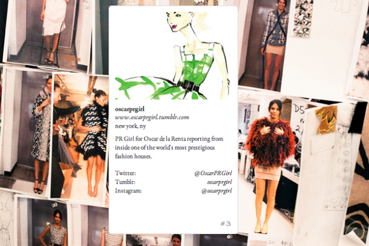 Oscar PR Girl's Fohr Card profile