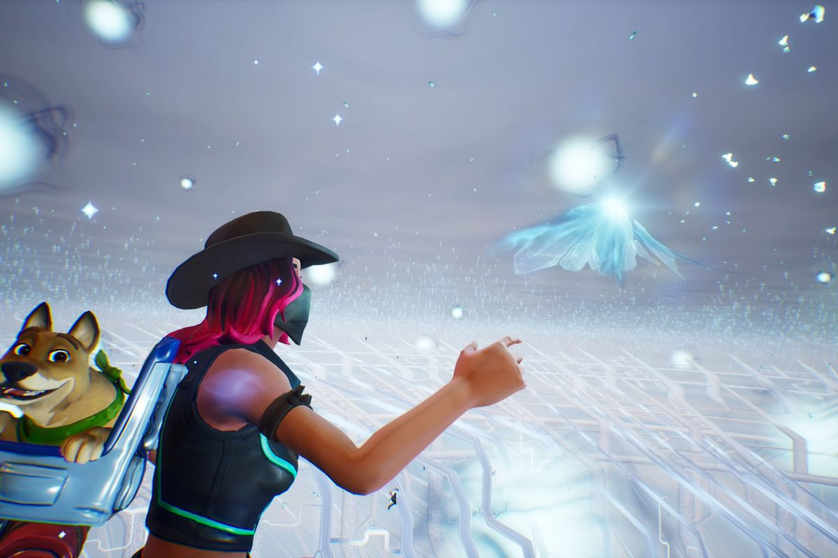 Cube Live Stream Fortnite Fortnite S Mysterious Cube Is Gone Leaving Behind A Brand New Location The Verge