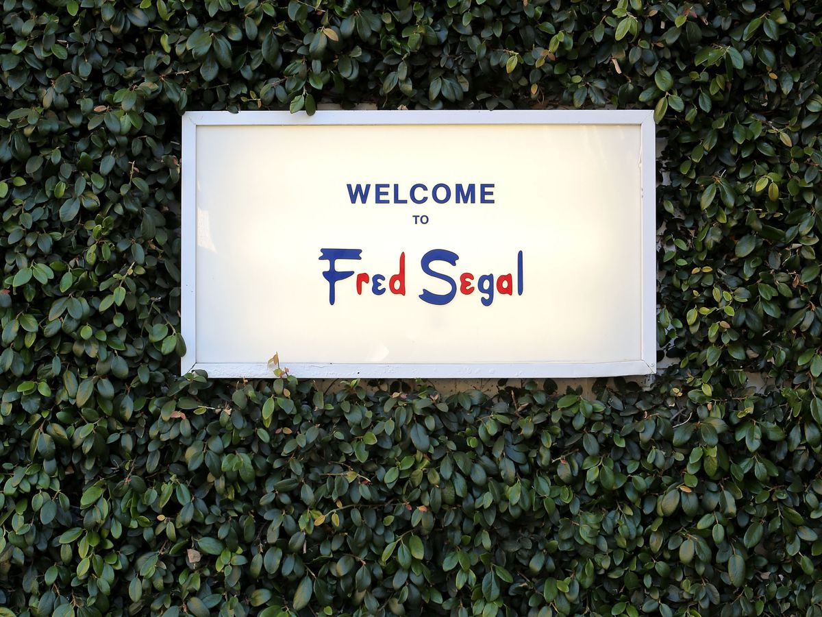 Fred Segal store