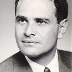 FILE - This is a 1965 photo showing New York Times publisher Arthur Ochs Sulzberger. Sulzberger has died at age 86.  The newspaper reports that his family says Sulzberger died Saturday, Sept. 29, 2012, at his home in Southampton, N.Y., after a long illness. He had retired in 1992 after three decades at the paper's helm and was succeeded by his son, Arthur Jr.
