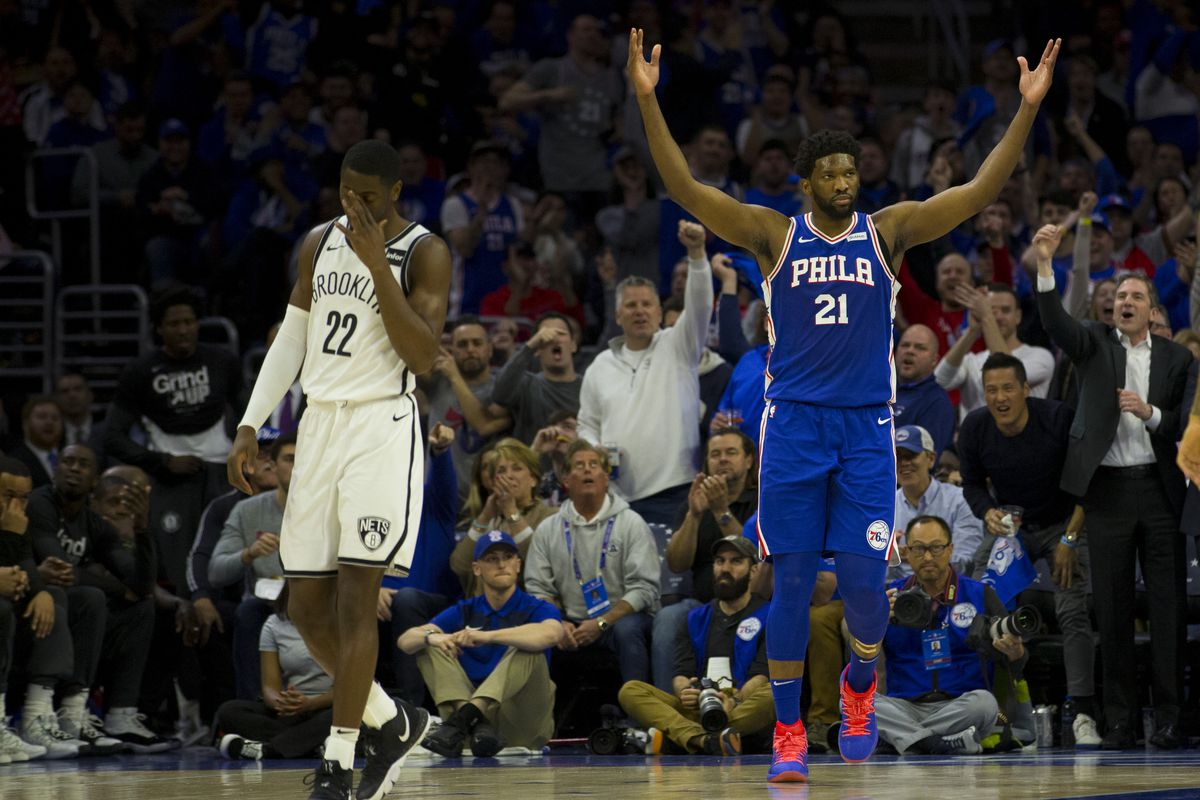 01648018f6d3 2019 NBA Playoffs  Sixers Look Like a Goliath Against the Nets - The ...