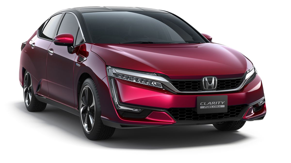 Honda S New Fuel Cell Car Will Arrive This Year For 500 A Month