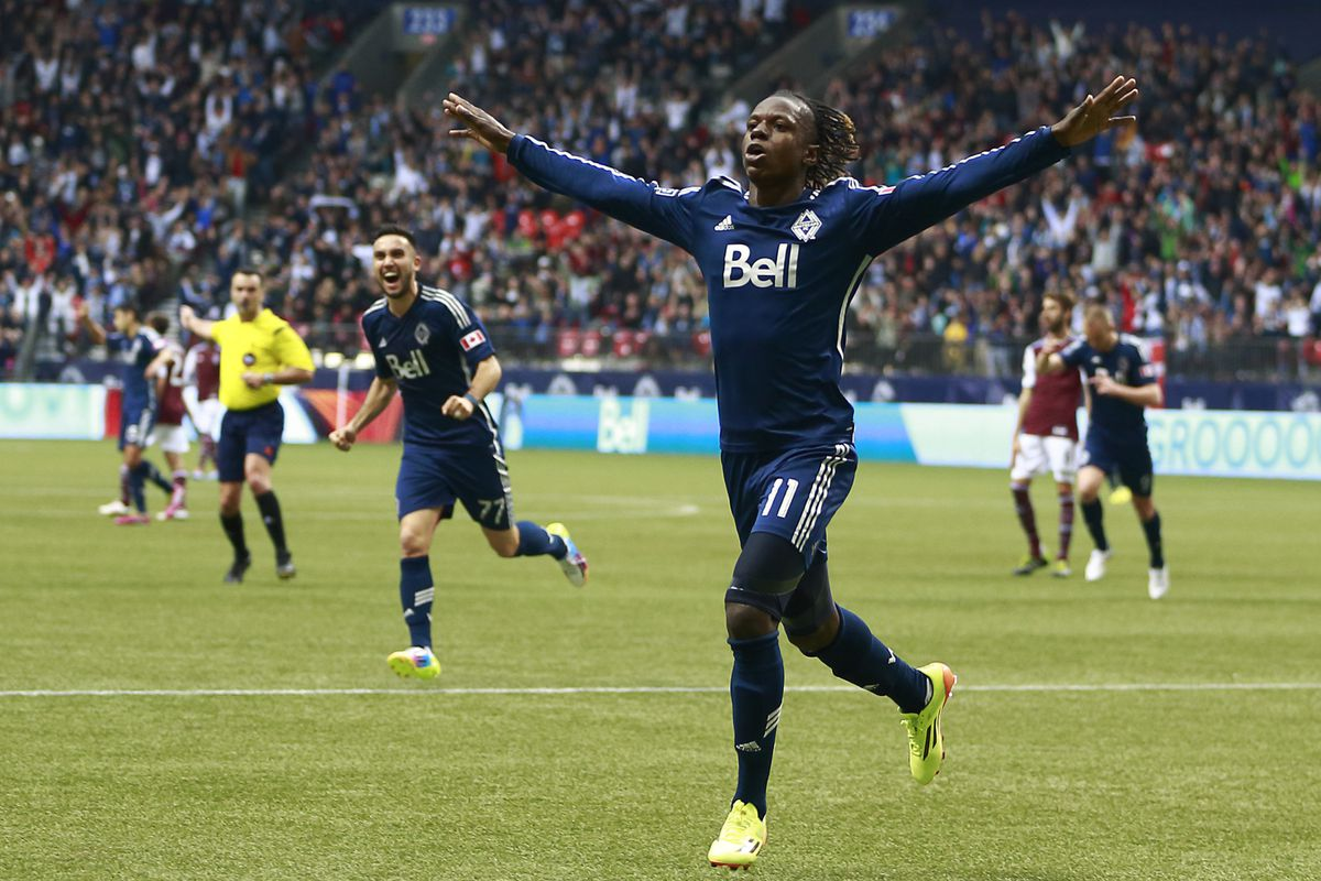 Darren Mattocks finally broke his duck and bagged his first goal of the 2014 season against the Colorado Rapids on Saturday