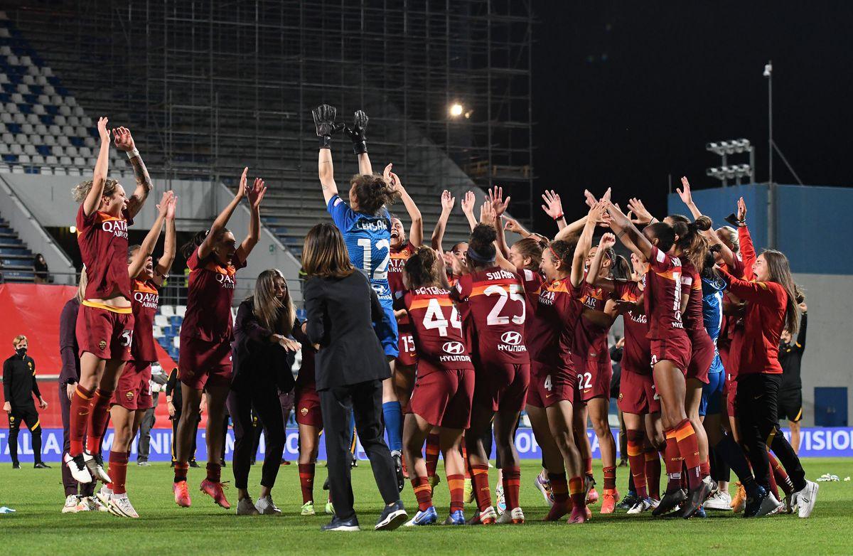 AC Milan v AS Roma Women - TIMVISION Women Cup Final