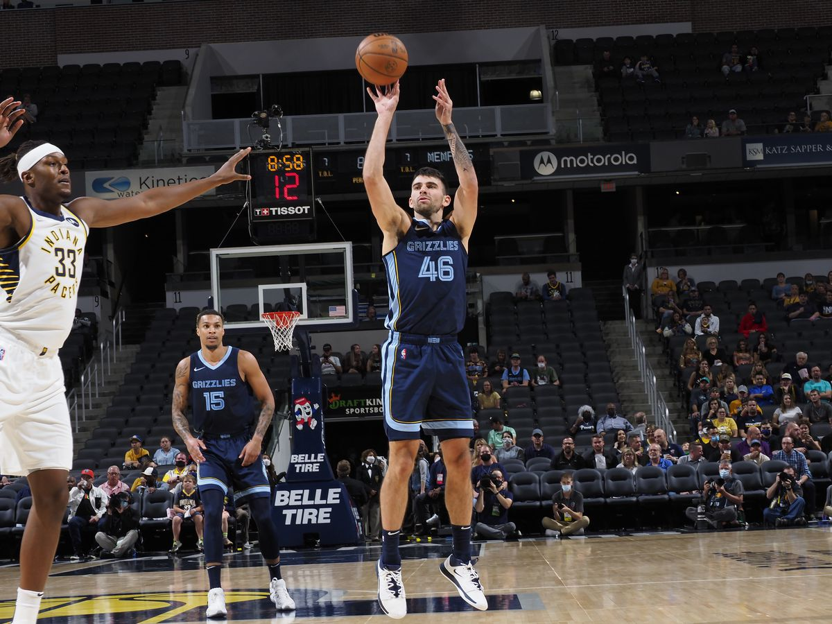 Memphis Grizzlies v Indiana Pacers