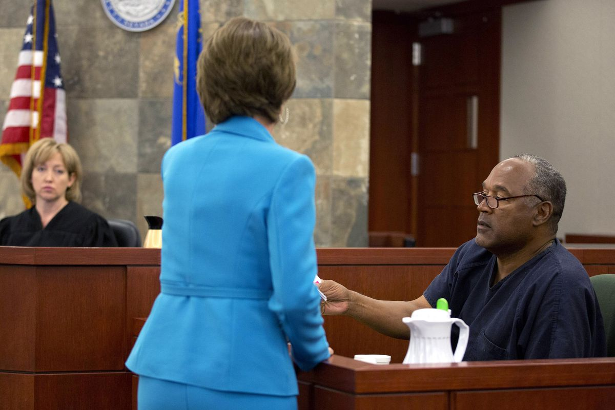 O.J. Simpson Seeks Retrial In Las Vegas Court - Day 3