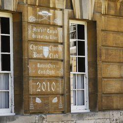 Christ Church, Oxford University in Oxford, England on Thursday, June 15, 2017.