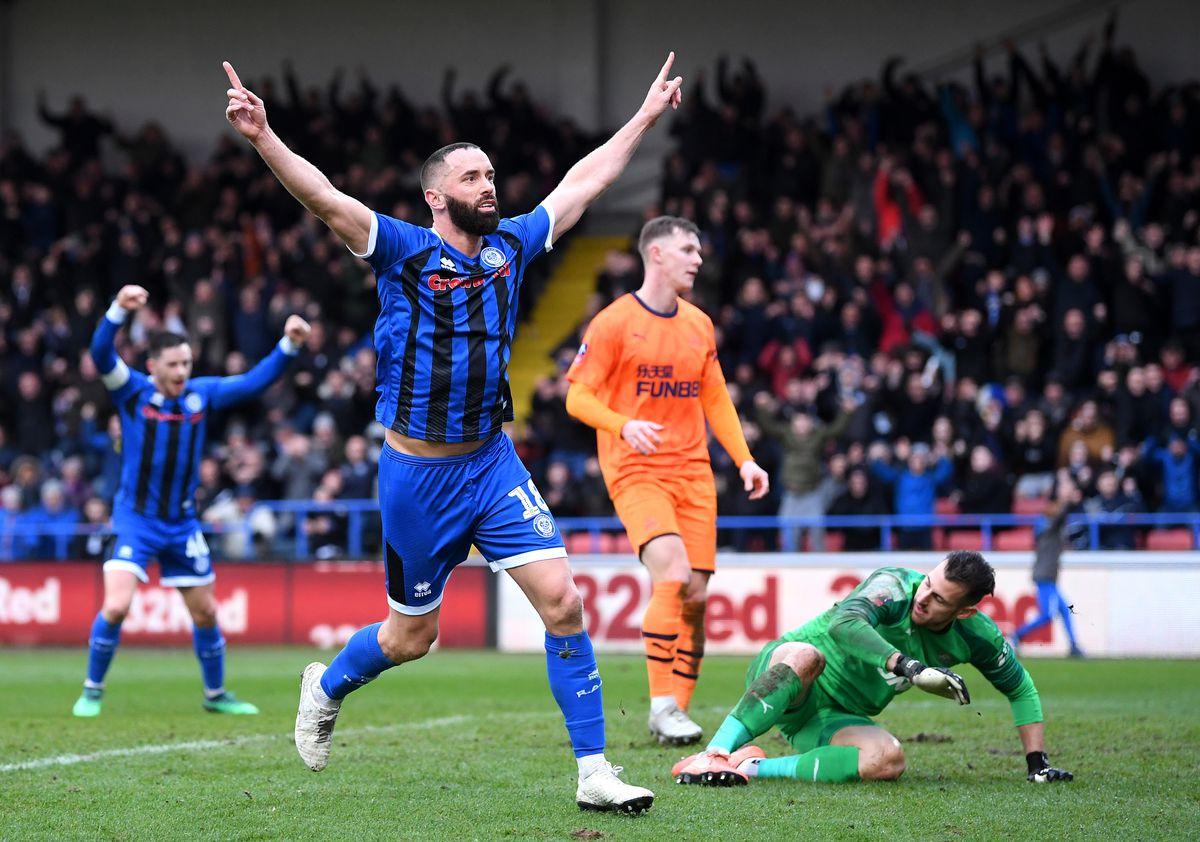 Rochdale AFC v Newcastle United - FA Cup Third Round