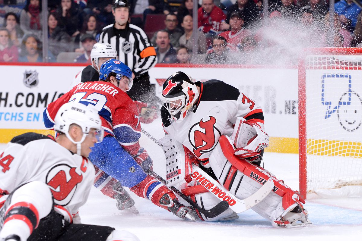 Ah, Montreal, where the Devils had their worst first period performance in this young season.