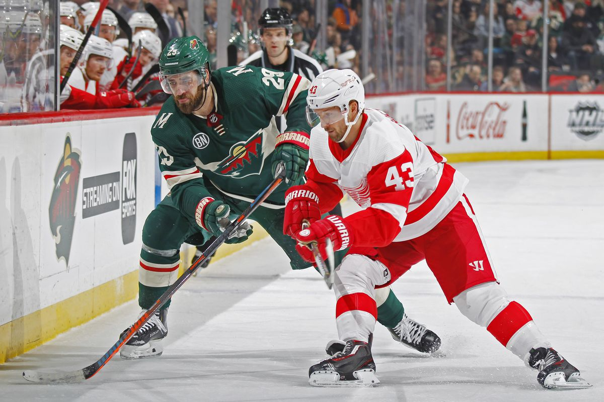 Red Wings at Wild: GDU, Lineups, Keys to the Game